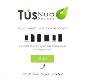 Tusnua Calculator cost to develop an app