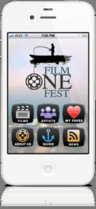 FilmoneFest iPhone Home Screen