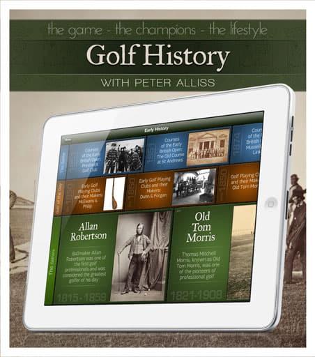Golf History iPad App