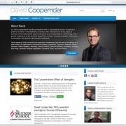 David Cooperrider Web Design Home Page