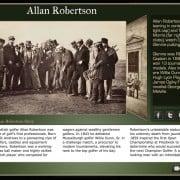 Golf History App: Large Tile Detail View