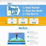 Ready4Life Web Site Development