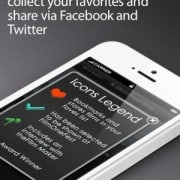 Social sharing on our movie app for iPhone and iPad
