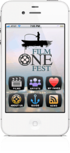 FilmoneFest iPhone Home Screen