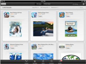 ios-6 app store search behavior