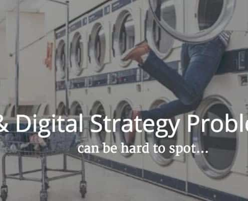 Design problems in ux and digital strategy