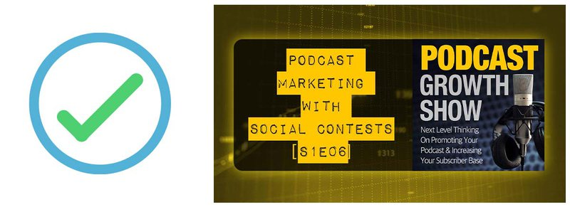 #5 on the podcast marketing checklist: Social Contests