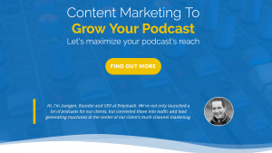 Podcast Content Strategy